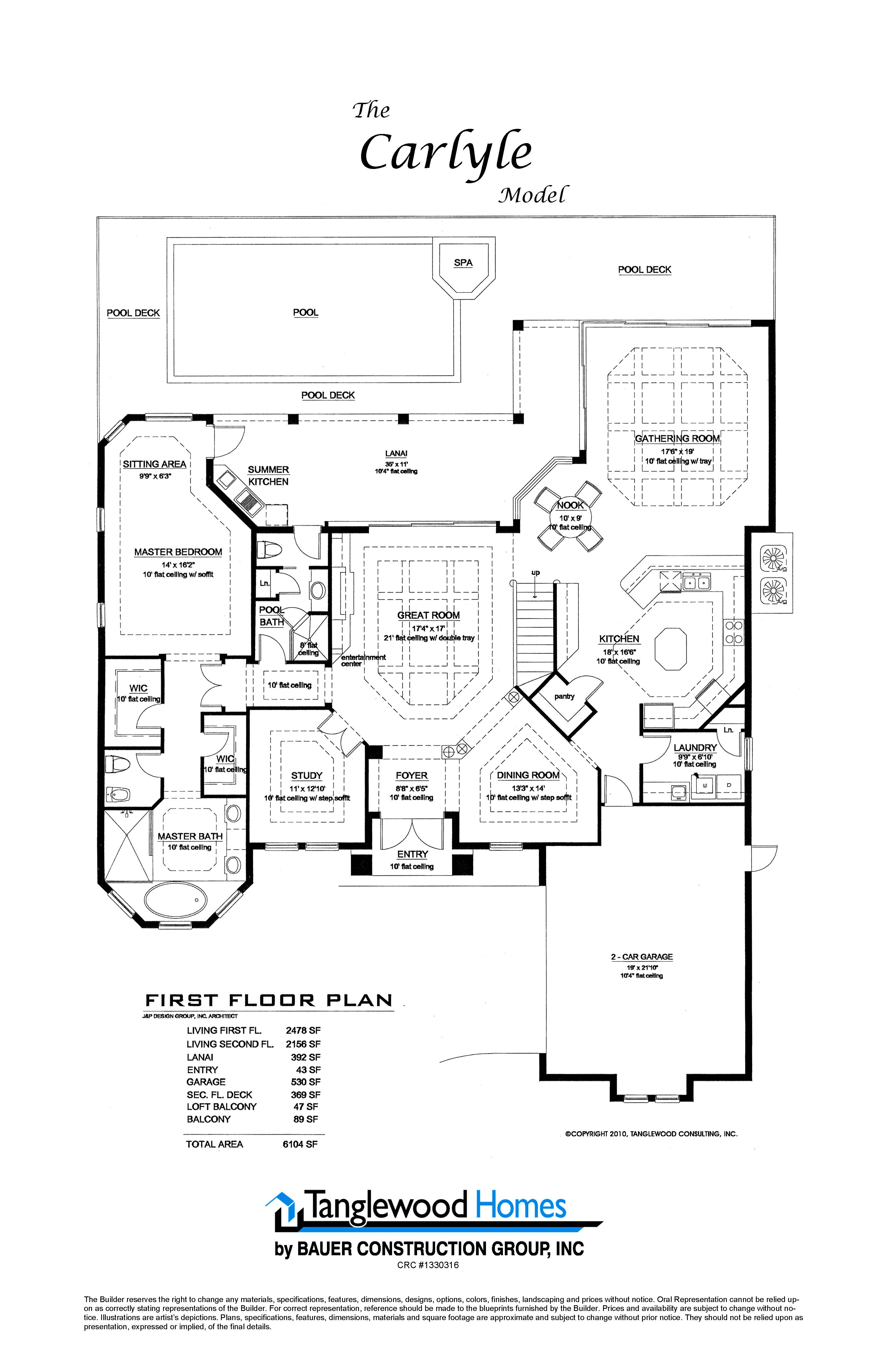 Home Construction Plans Carlyle Ft Myers Fl